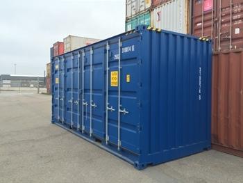 Tilbud på Containere - Produktion, Salg eller Udlejning af nye og brugte containere