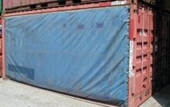 20' x 8' x 8'6'' Curtain Side Container